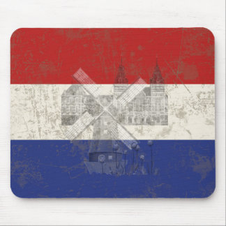 Flag and Symbols of the Netherlands ID151 Mouse Pad