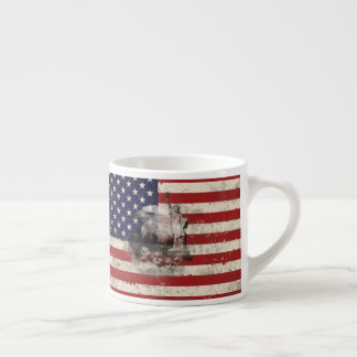 Flag and Symbols of United States ID155 Espresso Cup