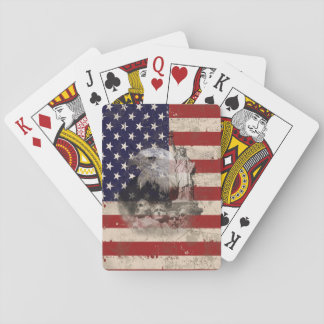 Flag and Symbols of United States ID155 Playing Cards