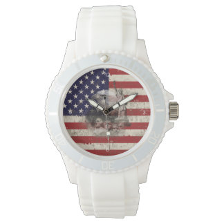 Flag and Symbols of United States ID155 Watch