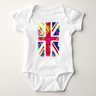 flag baby bodysuit