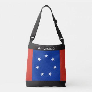 Flag Bag, Antarctica Crossbody Bag