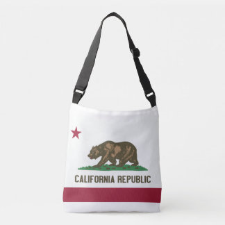 Flag Bag, California Crossbody Bag
