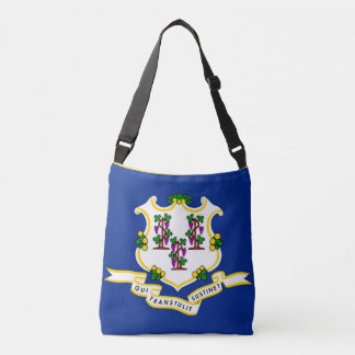 Flag Bag, Connecticut Crossbody Bag