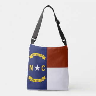 Flag Bag, North Carolina Crossbody Bag
