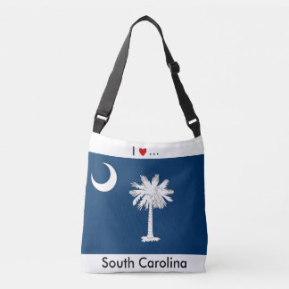 Flag Bag, South Carolina Crossbody Bag