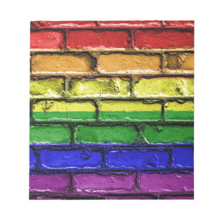 Flag Banner Gay LGBT Notepad