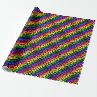 Flag Banner Gay LGBT Wrapping Paper