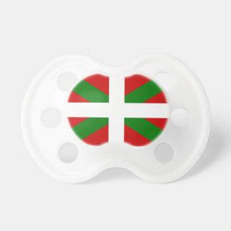 Flag Basque Country euskadi Pacifier