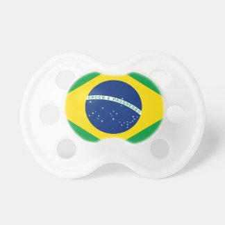 Flag Brazil. República Federativa do Brasil Pacifier