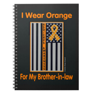 Flag/Brother-in-law...RSD/CRPS Spiral Note Books