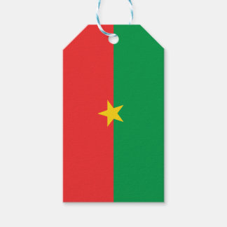 flag_burkina_farso gift tags