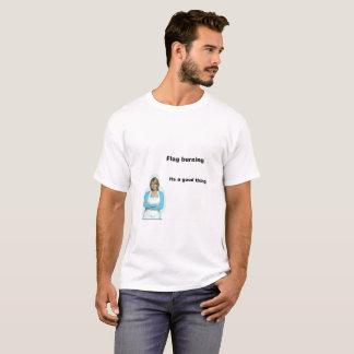 Flag Burning T T-Shirt