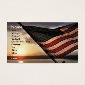 Flag Business Card