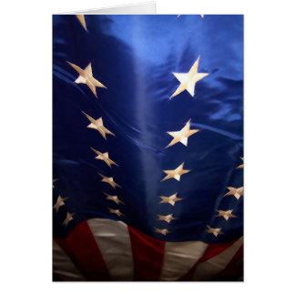 Flag card