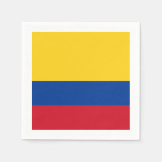 Flag: Colombia Paper Napkins
