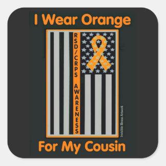 Flag/Cousin...RSD/CRPS Square Sticker