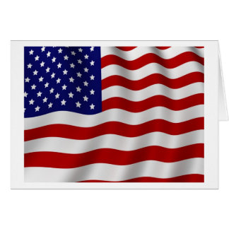 Flag day old glory card