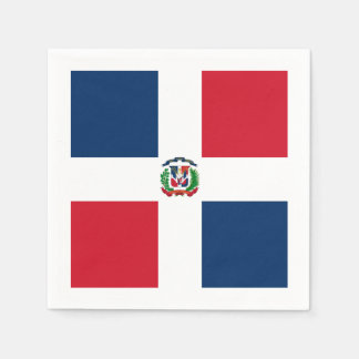 Flag: Dominican Republic Paper Napkin