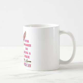 Flag Eagle Ar-15 M16 Never Apologize For Being Coffee Mug