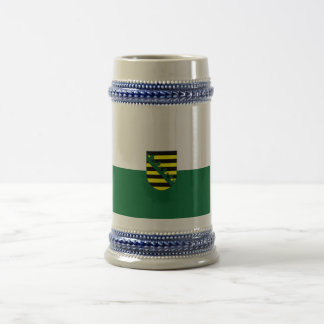 Flag Fahne Flagge Germany Saxony Sachsen Beer Stein