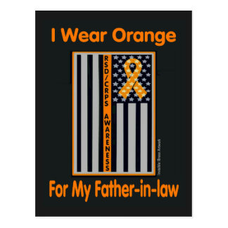 Flag/Father-in-law...RSD/CRPS Postcard