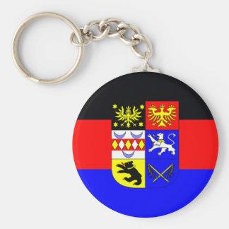 Flag - Flagge - Fahne - Germany East Frisia Basic Round Button Keychain