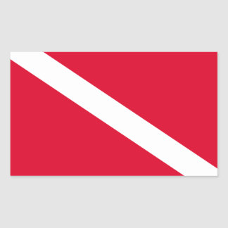 Flag for Diving Sticker
