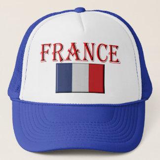 flag french trucker hat