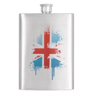 flag great Britain Hip Flask