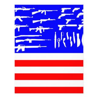 Flag Guns Letterhead