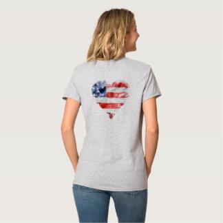 """""""Flag"""" Hanes Nano V-Neck T-Shirt"""