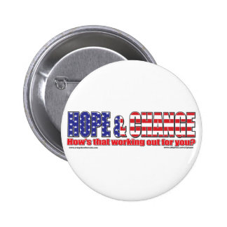 Flag-Hope-Tee Pinback Buttons