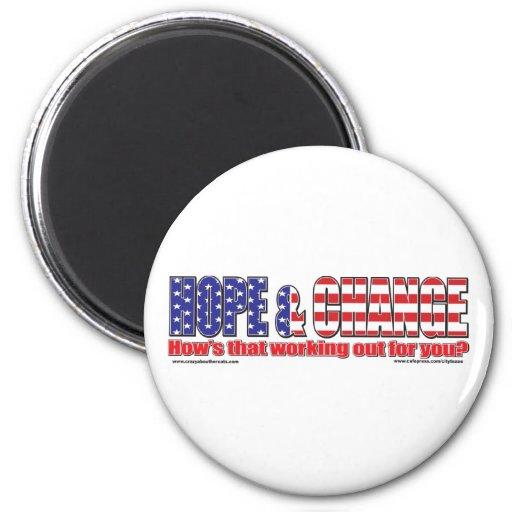 Flag-Hope-Tee Fridge Magnet
