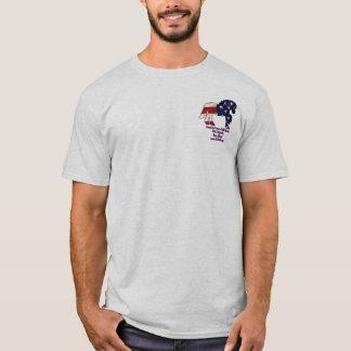 Flag horse1, Blue logo T-Shirt