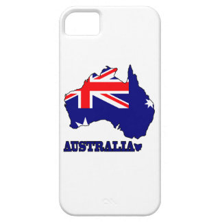 Flag in Map of Australia iPhone 5 Covers