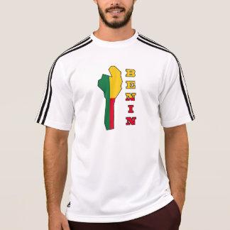Flag in Map of Benin T-Shirt