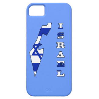 Flag in Map of Israel iPhone 5 Covers