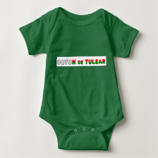 flag in name coton baby bodysuit