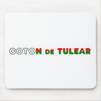 flag in name coton mouse pad