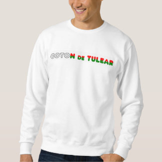 flag in name coton sweatshirt
