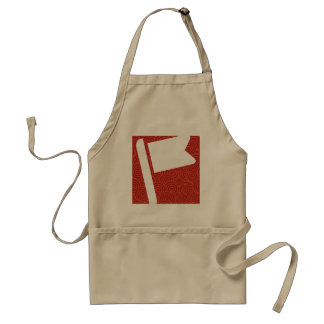 Flag Inserts Graphic Standard Apron