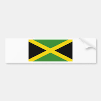 Flag Jamaica Bumper Sticker