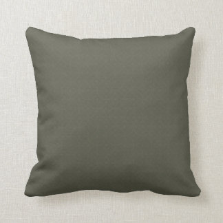 Flag kisses olive greenness throw pillow