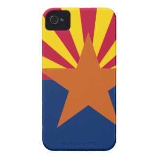Flag Map Of Arizona iPhone 4 Case-Mate Case