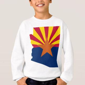 Flag Map Of Arizona Sweatshirt