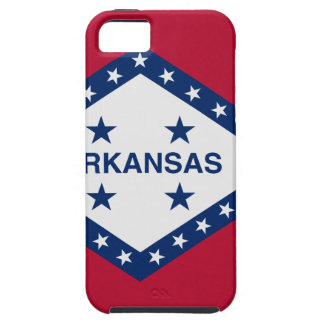 Flag Map Of Arkansas iPhone 5 Cases