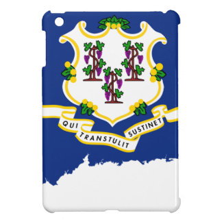Flag Map Of Connecticut iPad Mini Cases