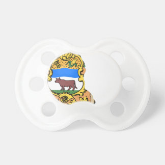 Flag Map Of Delaware Pacifier