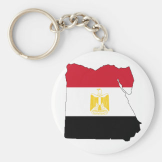 Flag/Map of Egypt Keychain